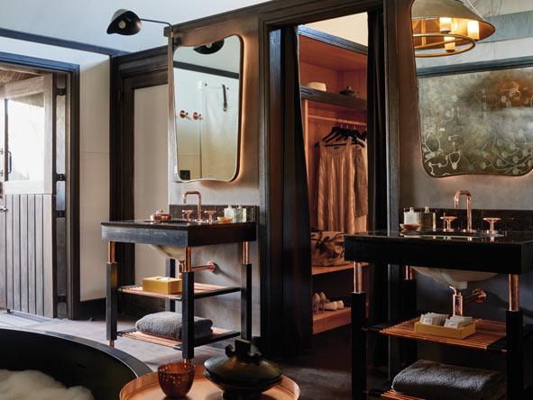 luxury en-suite bathroom, Belmond Eagle island lodge