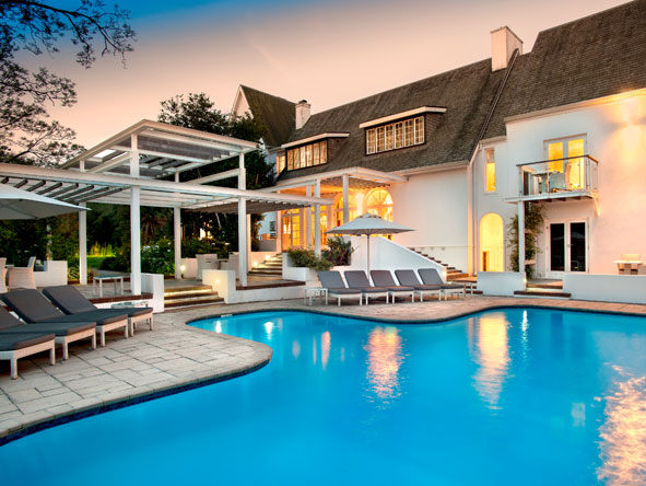 Fancourt manor house, swimming pool