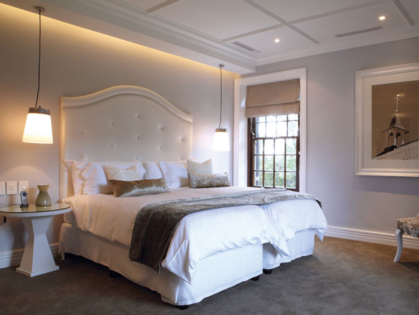 Fancourt manor house, bedroom suite