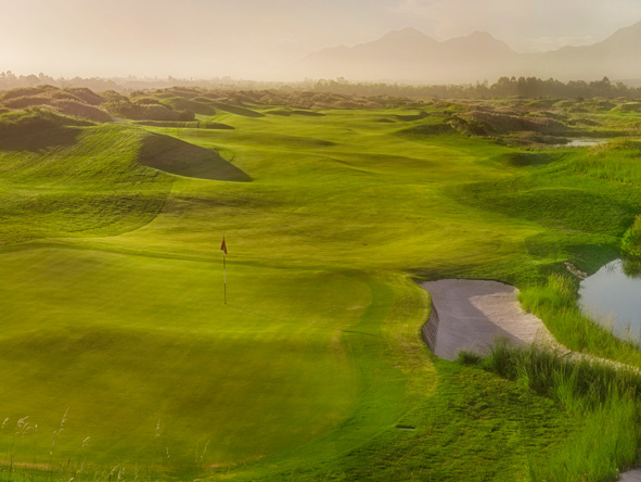 The links golf course, fancourt