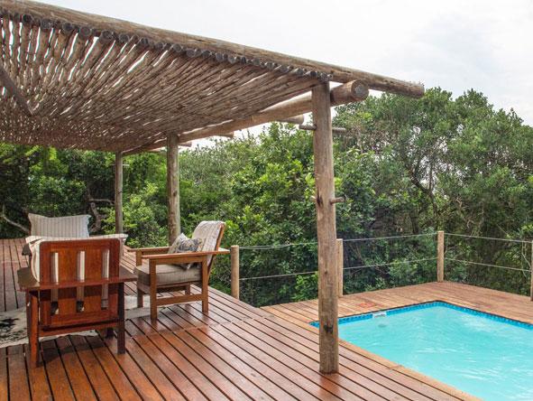 Machangulo Beach Lodge, private plunge pool