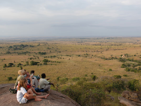 Family vacation, Serengeti