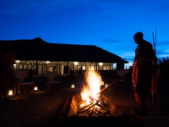 Maasai guides, Ngorongoro