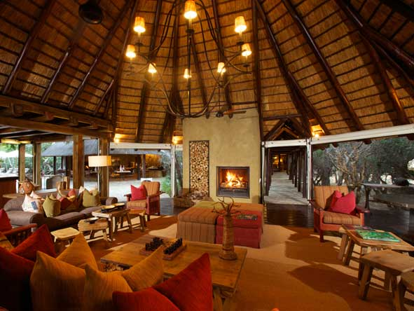 Kapama Buffalo Camp, Lounge