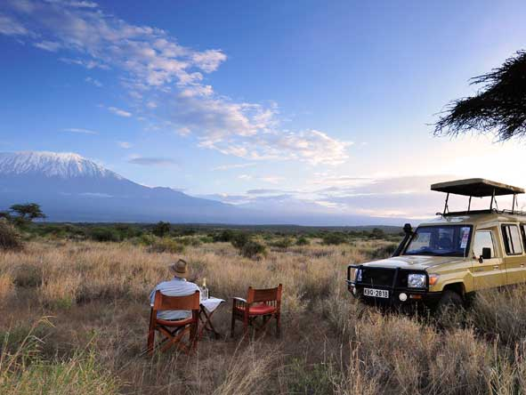 Amboseli National Park, Mount Kilimanjaro