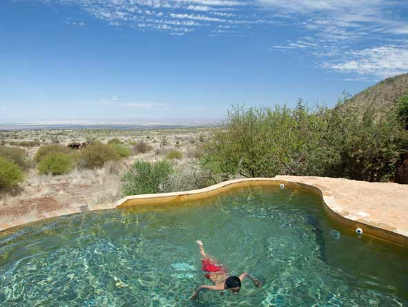 Satao Elerai Camp, swimming