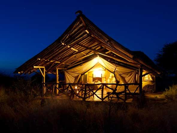 Satao Elerai Camp, Amboseli reserve