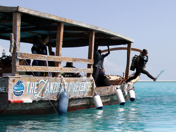 Diving in Zanzibar