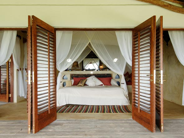 Matemwe Retreat, bedroom suite