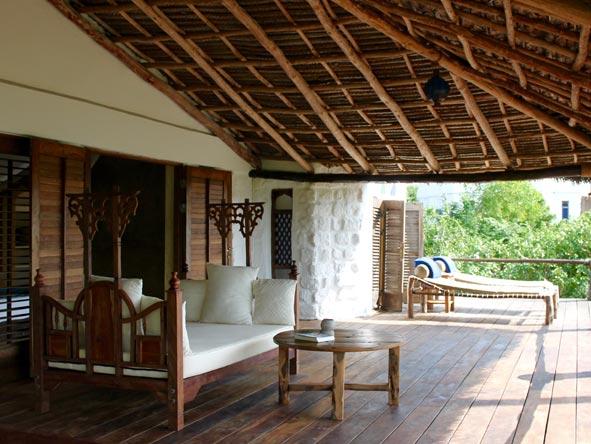 Matemwe Retreat, balcony