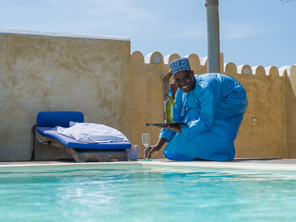 Matemwe Retreat Zanzibar, poolside service