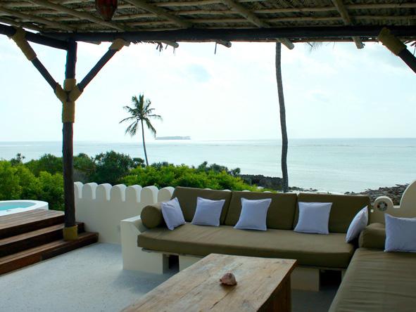 Matemwe Retreat, rooftop terrace
