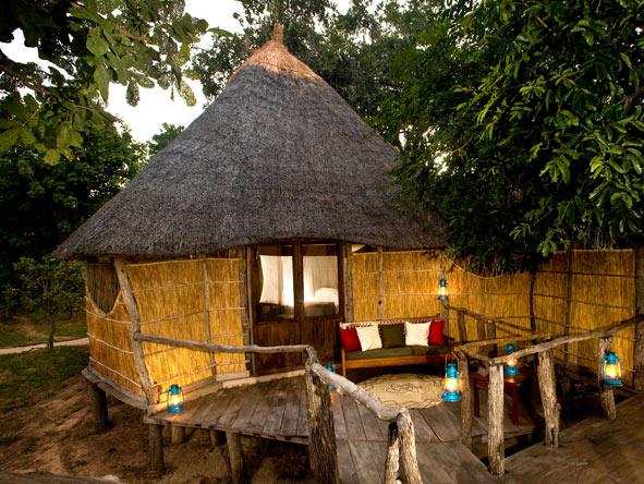Nsolo Bush Camp, Grass Suites