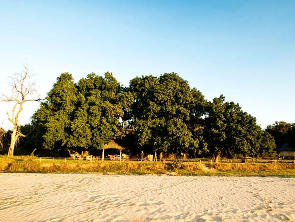 Nsolo Bush Camp, Riverbed