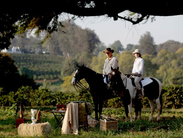 Horseback safari, The manor at Ngorongoro Crater