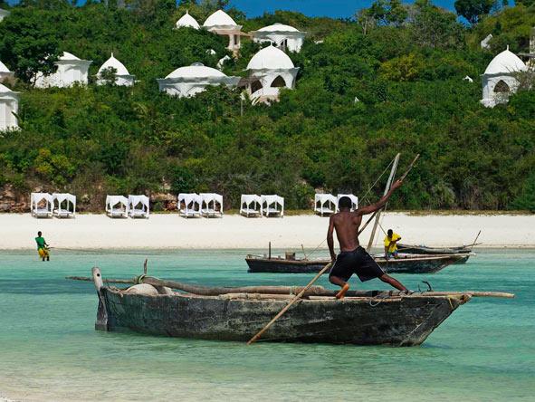 Kilindi Zanzibar, traditional dhow