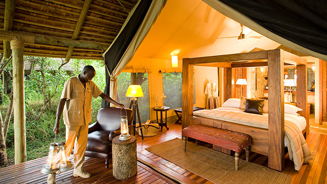 Africa's Top Tented Camps - Bateleur