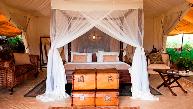 Africa's Top Tented Camps - Cottars 1920