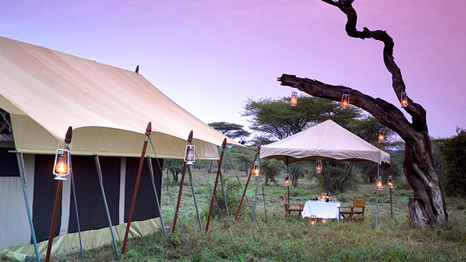 Africa's Top Tented Camps - Serengeti Under Canvas