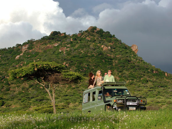 Off road game drives