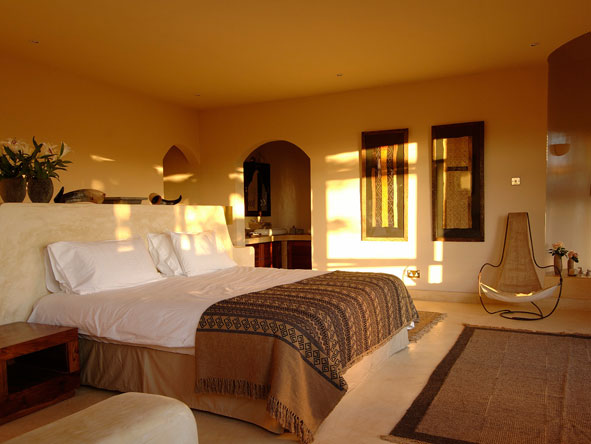 bedroom suite at the sanctuary at ol lentille