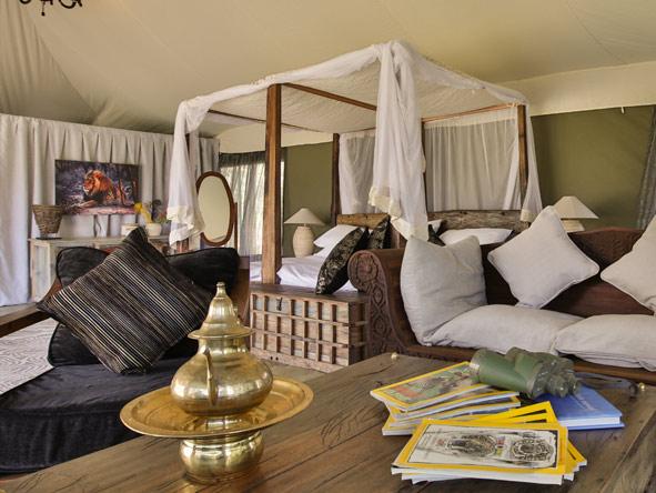 Nasikia Mobile Migration Camp - Bedroom