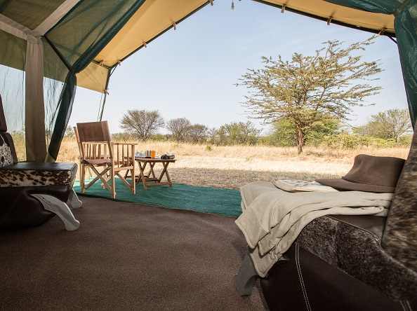 Nasikia Mobile Migration Camp - Bedroom view