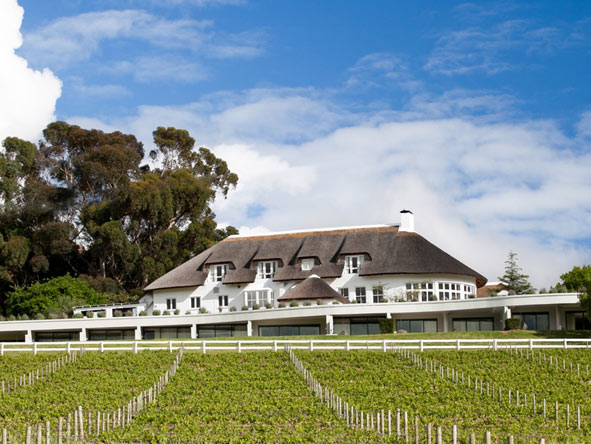 Mont Rochelle Hotel, cape winelands