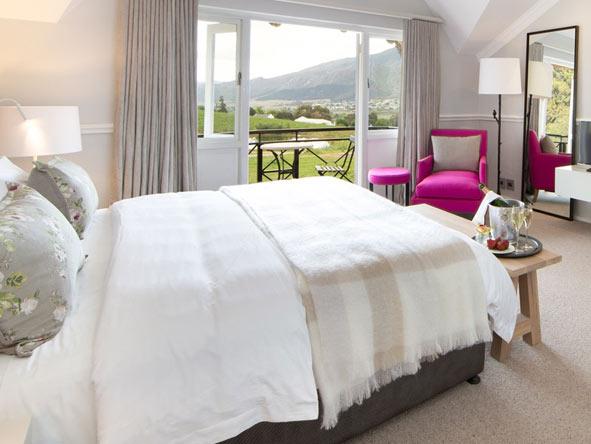 bedroom suite at mont rochelle