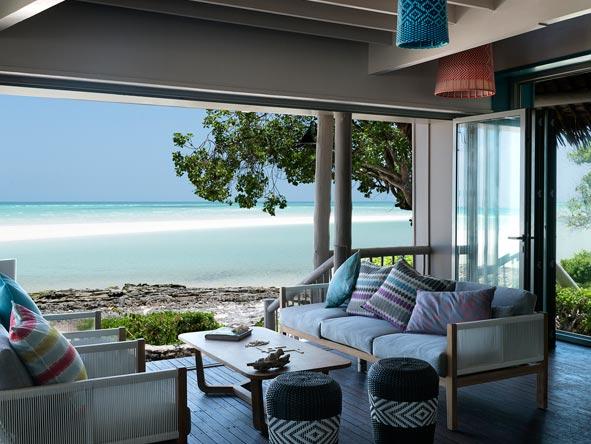 Anantara Medjumbe Island Resort, lounge