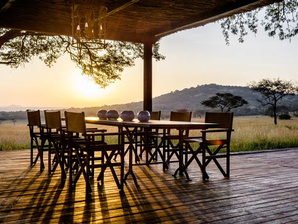 Singita Serengeti House luxury villa