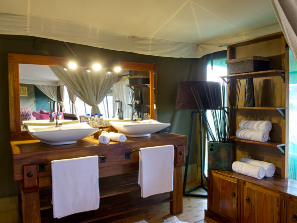 en-suite bathroom, kaskaz mara camp