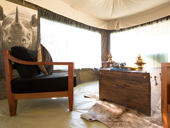 luxury tented camp, tanzania