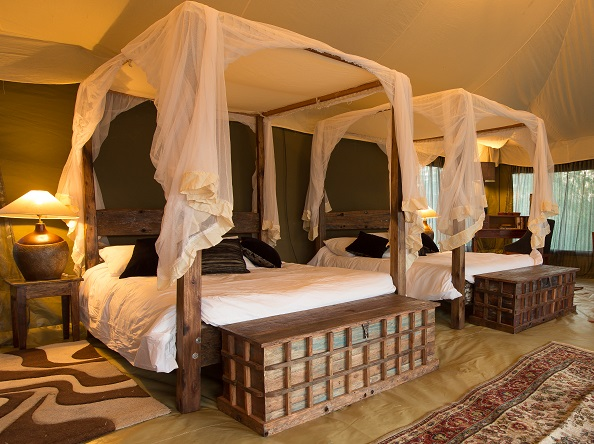 luxury spacious tented suite