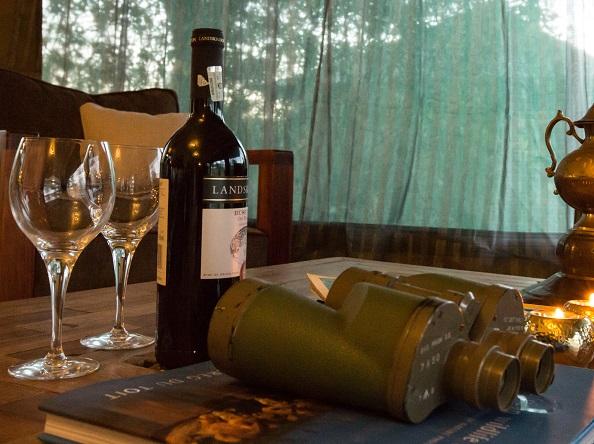 Wine on Safari