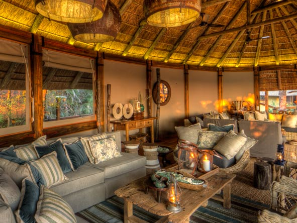 Camp Okavango, lounge