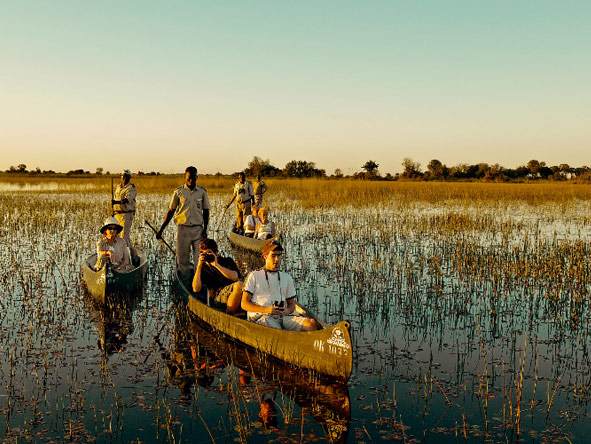 water safari, okavango delta