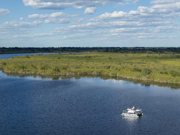 river cruise, okavango delta