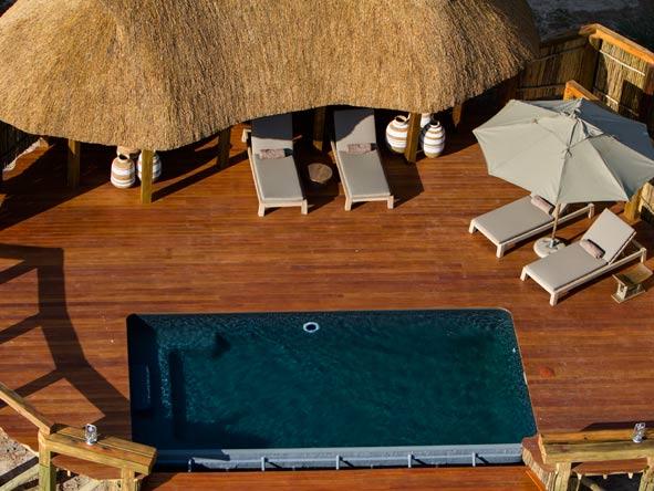 Camp Okavango, swimming pool