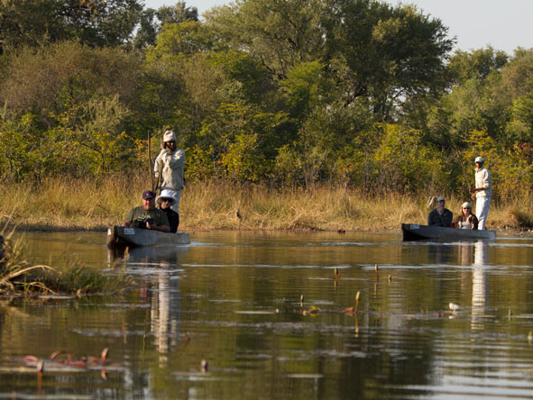 Kwai Conservancy, water safari