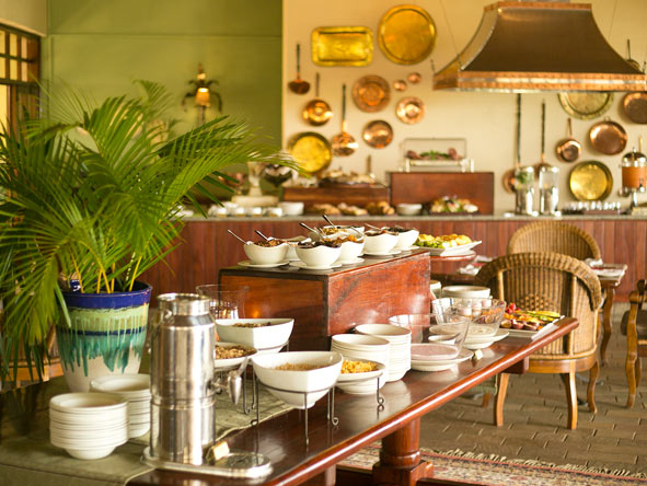 buffet breakfast, Ilala Lodge