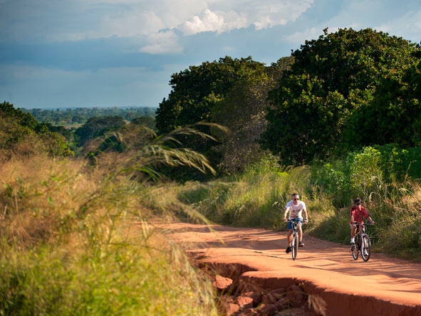 bike riding, mozambique