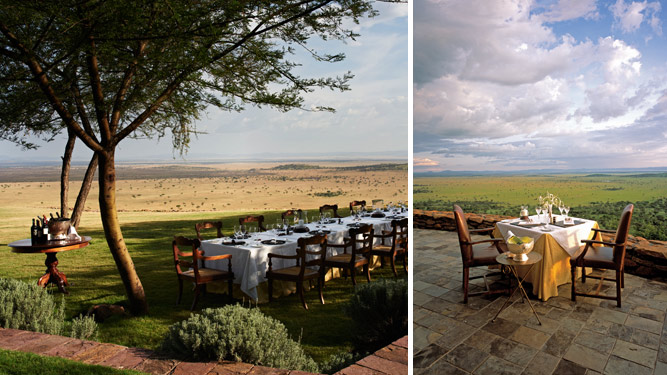 Africa's Top 10 Hotel Restaurants - Sasakwa