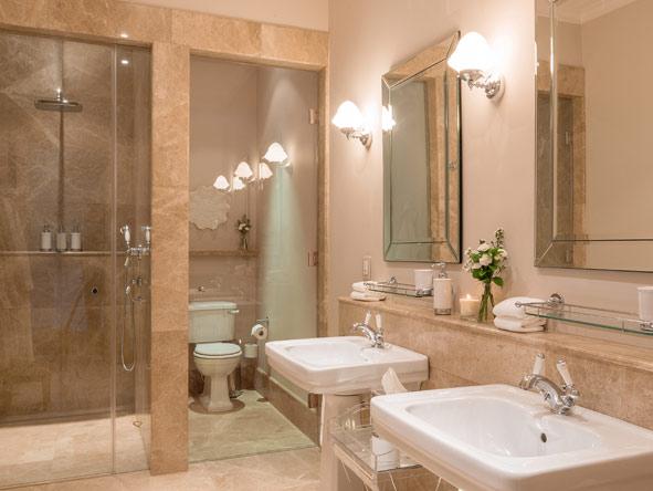 Generous Bathrooms