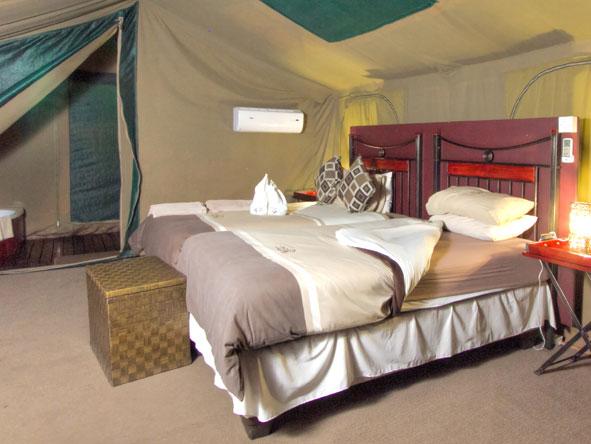 Tented Suites