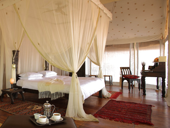tented suites