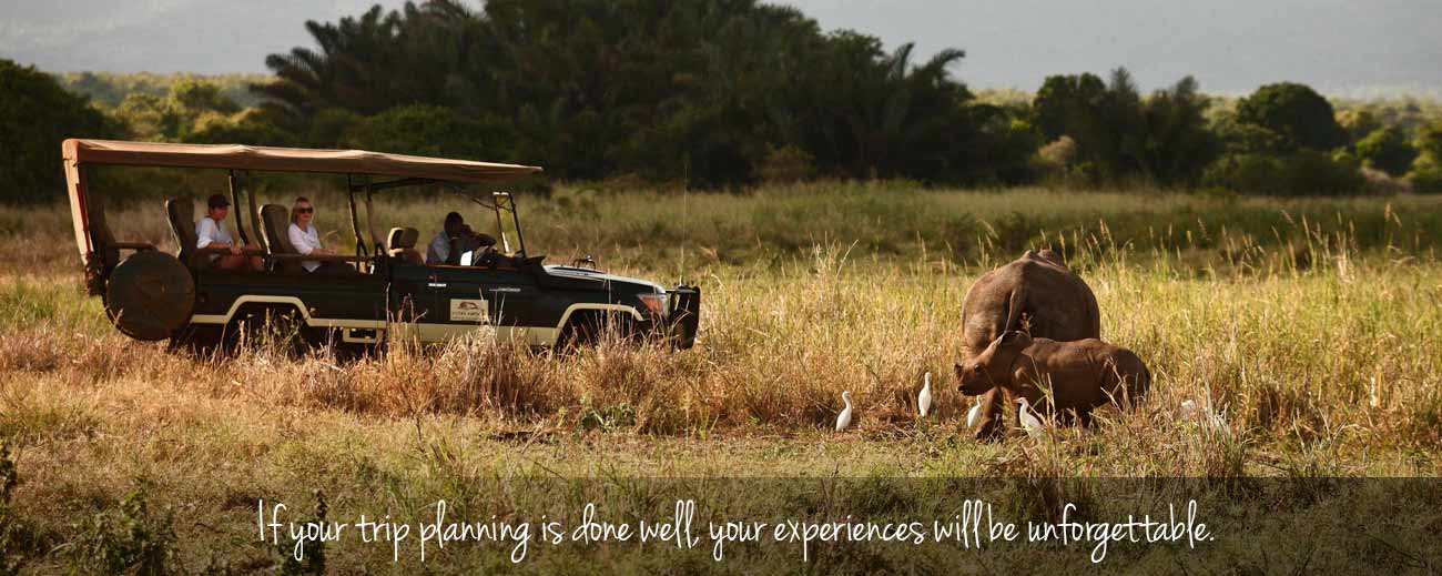 Booking Safari Banner