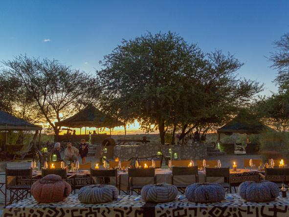 Kalahari Sun set