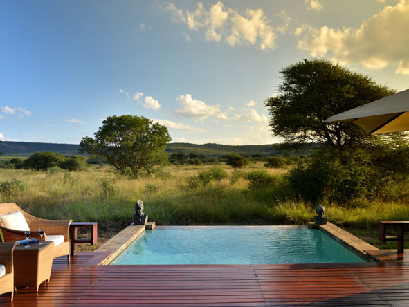 secluded views of Madikwe Private Game Reserve