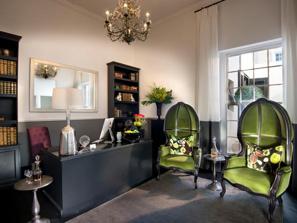 Victorian-chic interiors